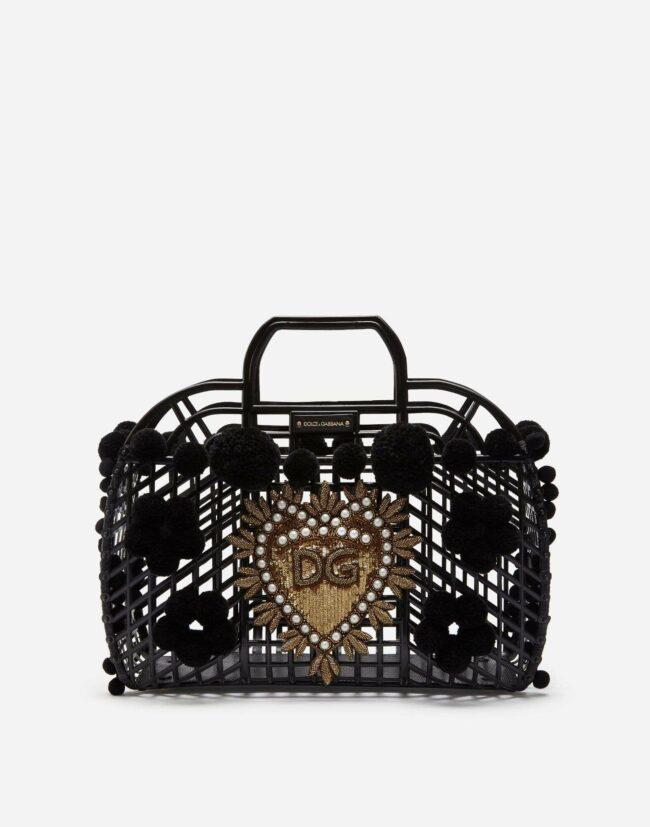 Dolce & Gabbana Gomma + Ricamo Pvc