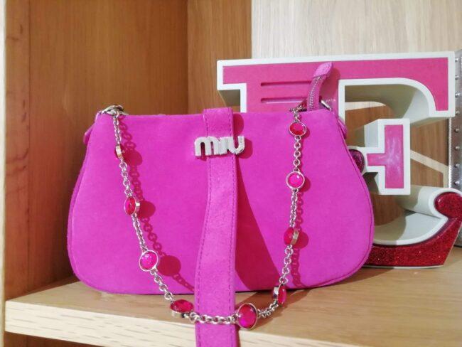 Miu Miu Cristal Chain Bag