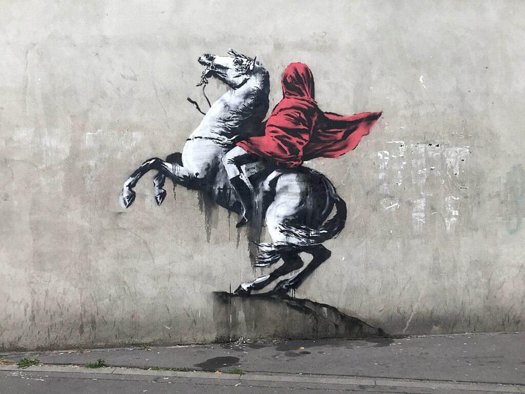 Banksy Napoleon Website