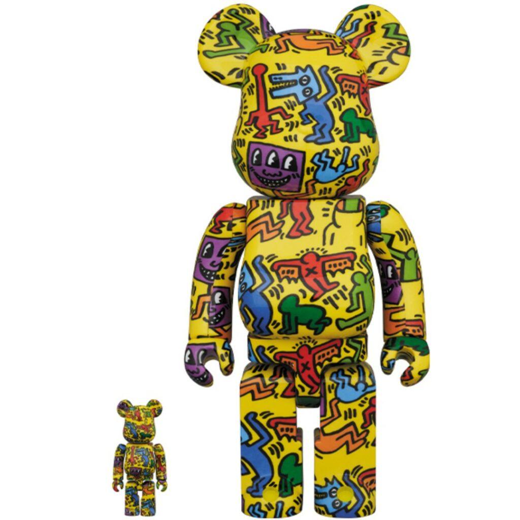 Bearbrick Keith Haring #5 100%/400%