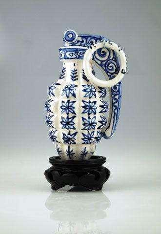 Porcelain Hand Grenade