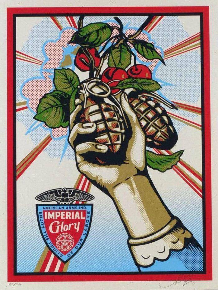 Imperial Glory Screen Print