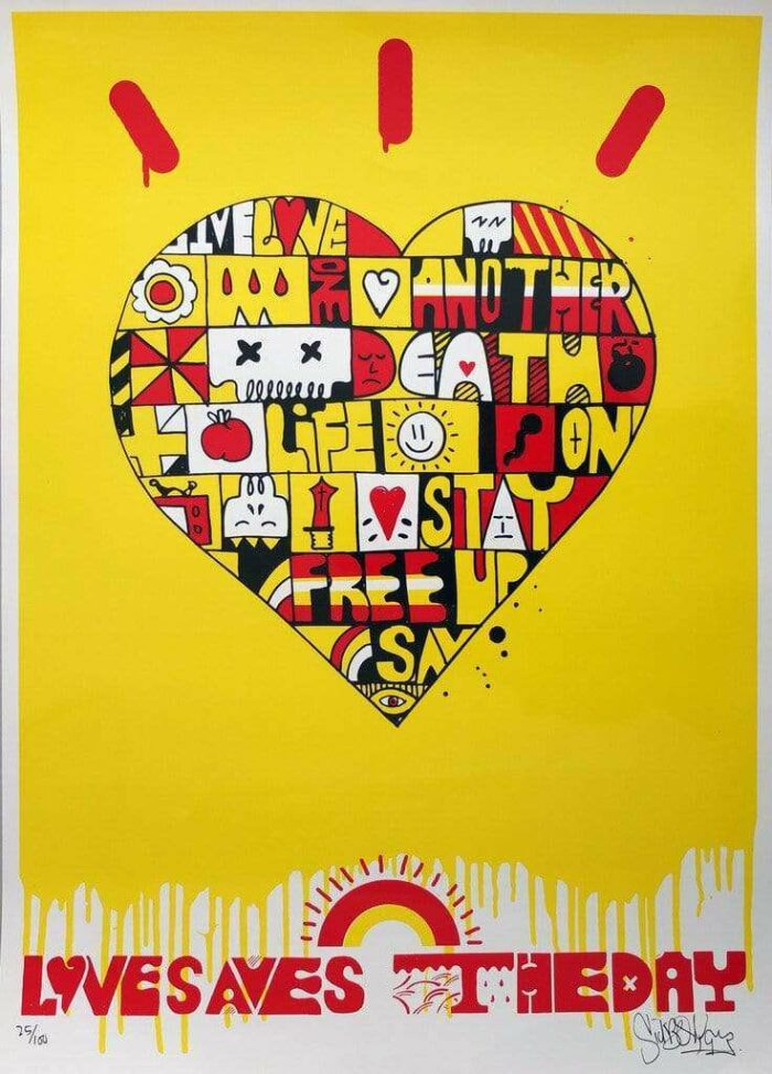Love Saves The Day Limited Print