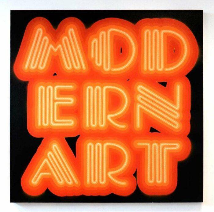 Modern Art Neon