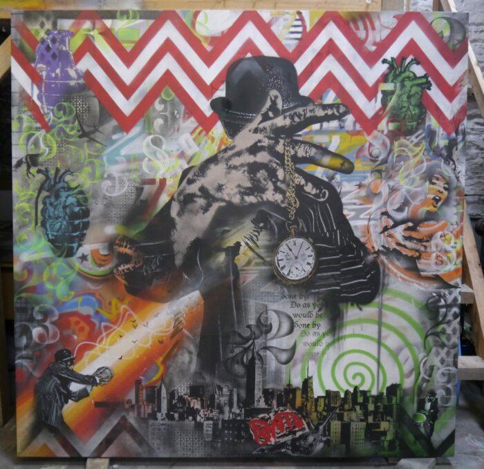 Vandal Times - Original Canvas