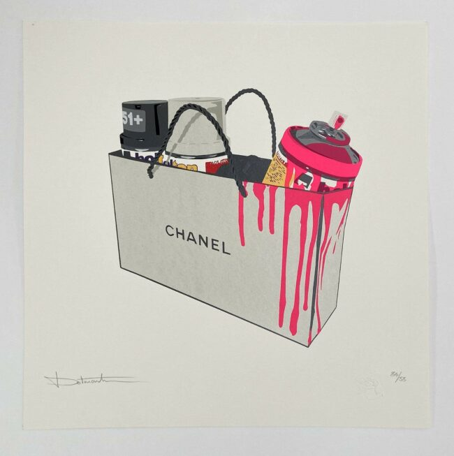 Chanel Pink Limited Print