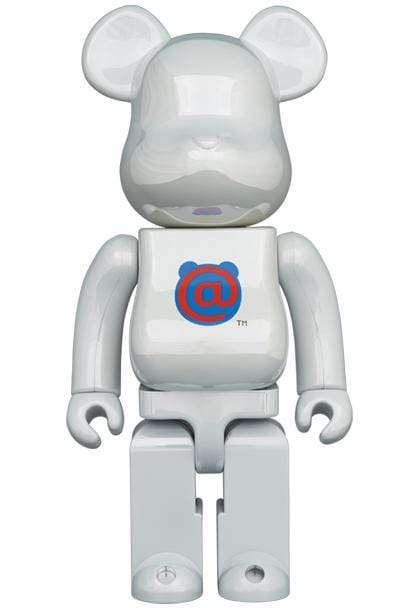 Bearbrick 1St Model White Chrome 1000%