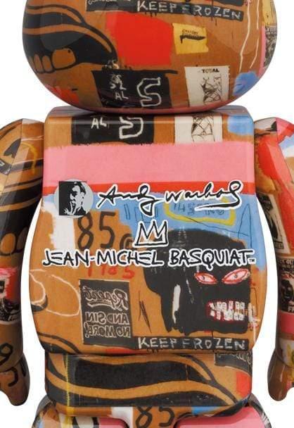 Andy Warhol × Jean-Michel Basquiat #2 1000%