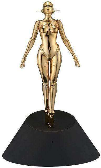 Sexy Robot Floating (Gold)