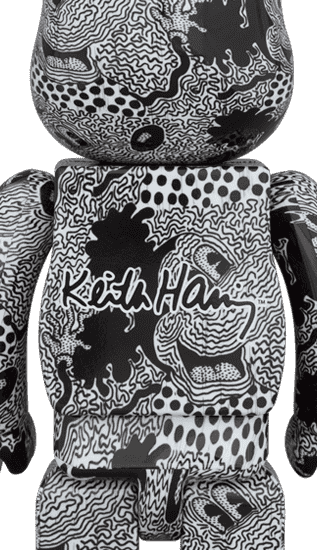 Keith Haring x Mickey Mouse Disney 100%/400%
