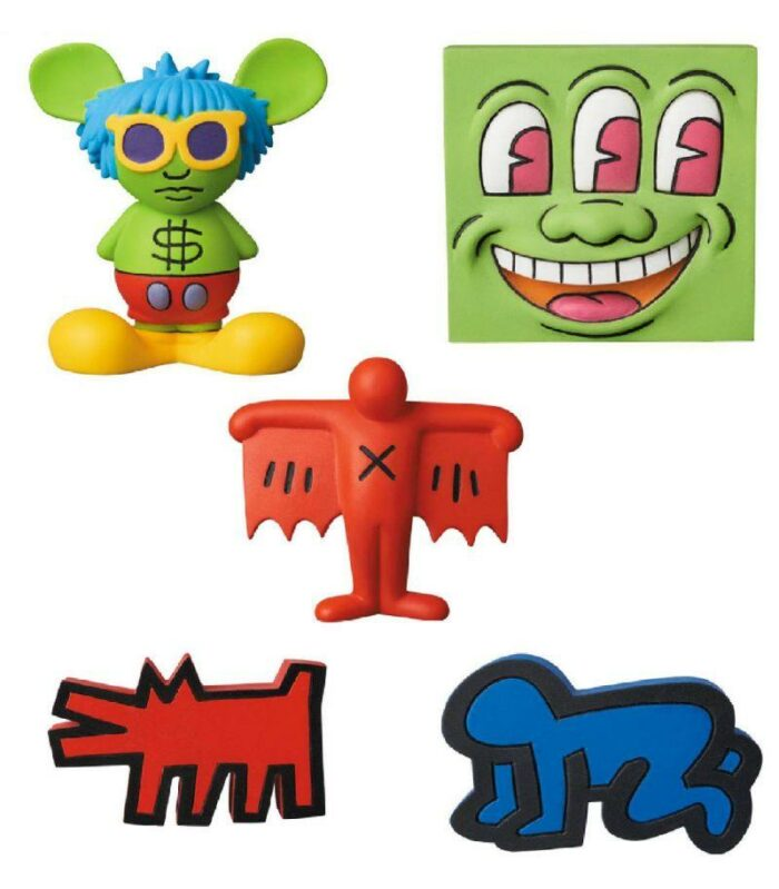 Mini Vcd Keith Haring - Series 2 - Single Box