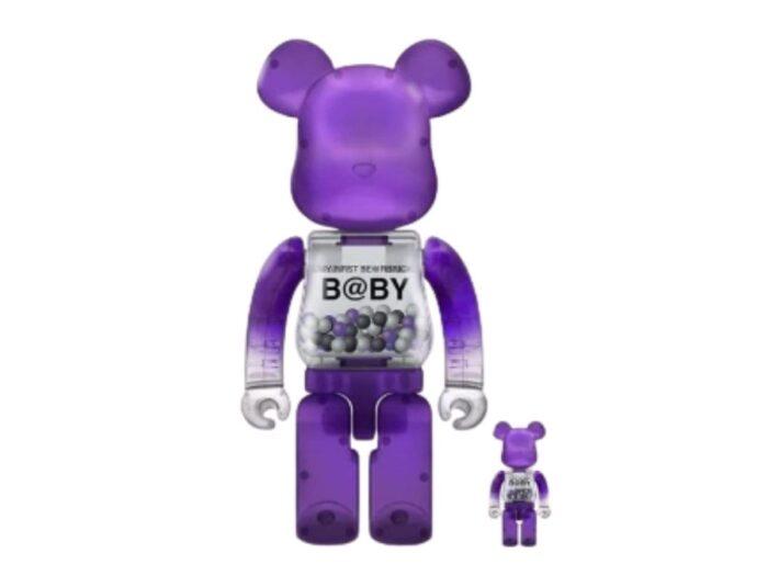 My First Bearbrick BaBy Purple 100%/400%