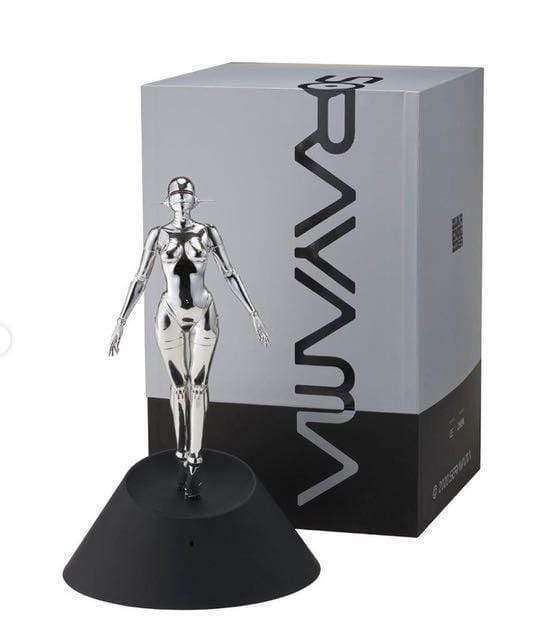 Sexy Robot Floating - Silver