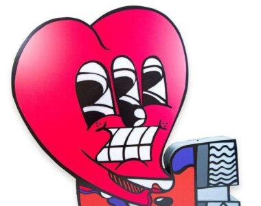 Sickboy's Heart artwork - Profile picture on 2B Art & Toys Gallery