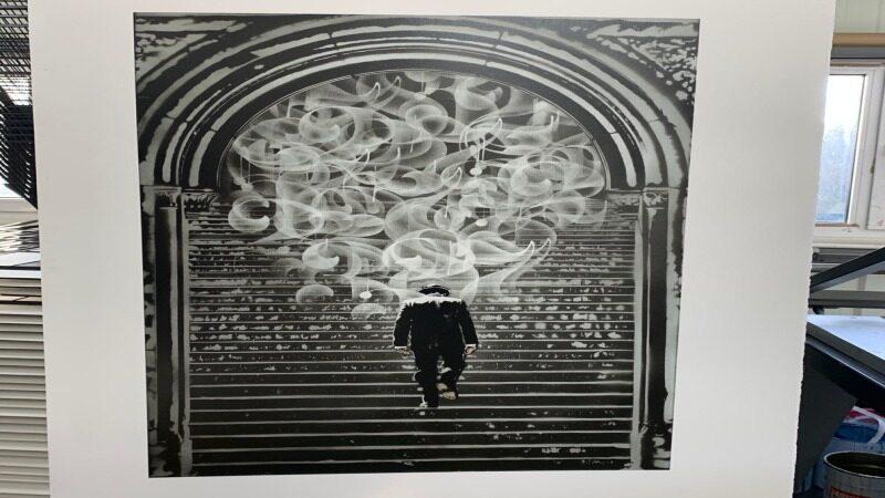 Nick Walker - Departure print