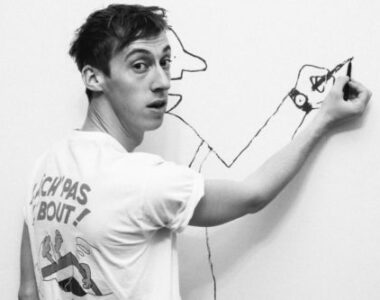 Jean Jullien painting - Profile picture on 2B Art & Toys Gallery