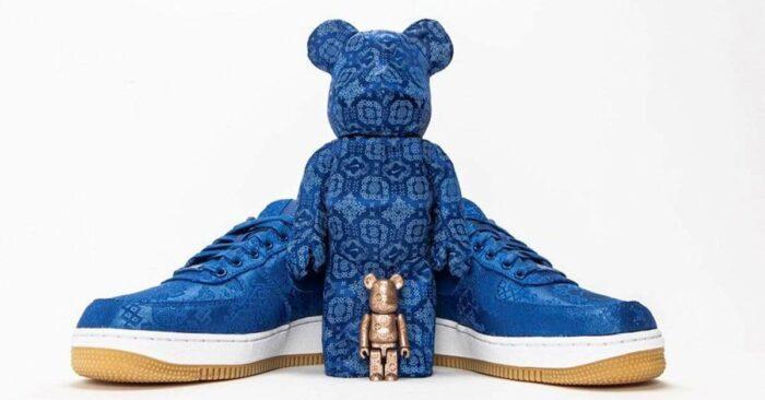 Clot x Nike - Bearbrick 100%/400%