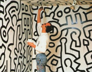 Keith Haring painting - Profile photo on 2B Art & Toys Gallery