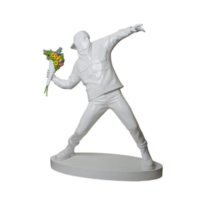 3ft Flower Bomber Sculpture