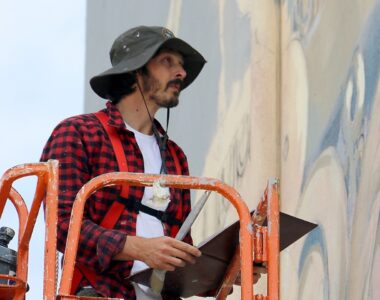Javier Garlo painting - Profile photo on 2B Art & Toys Gallery
