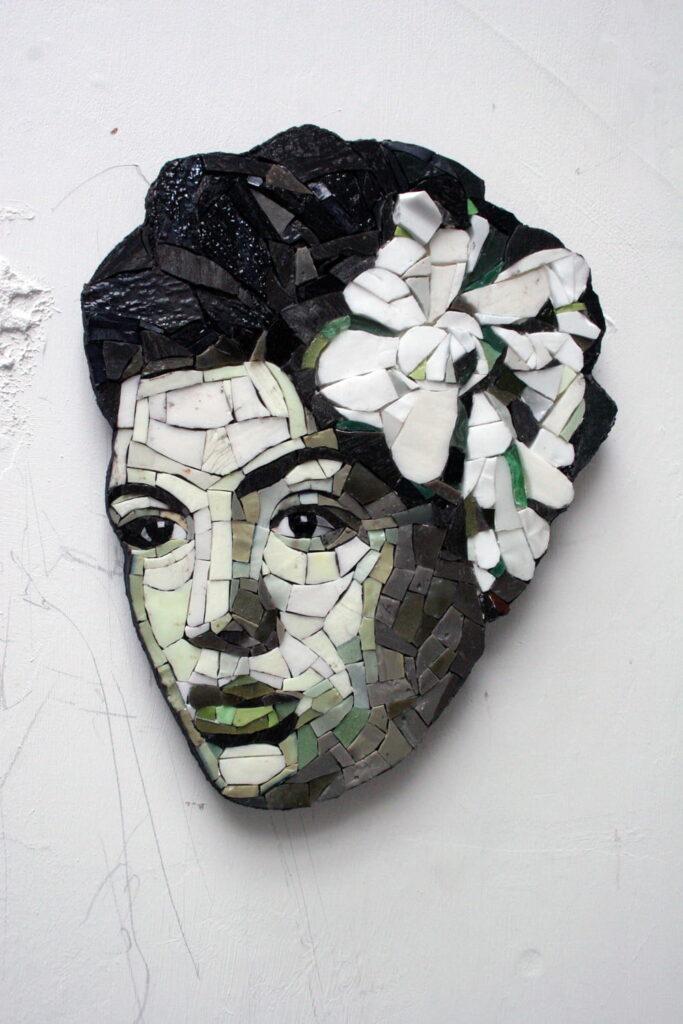Ruth Minola Scheibler mosaic art - Billy
