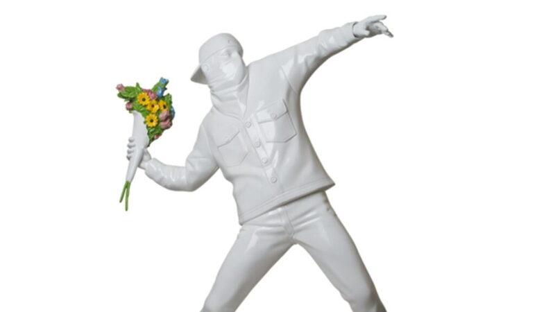 3ft Flower Bomber Statue by Sync. Brandalised