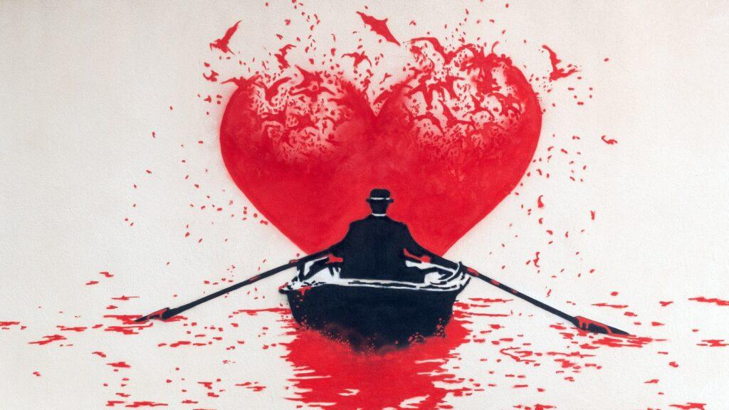 """Love Bats"" mural by Nick Walker"