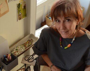 Gracia Ribalaiga in studio - Profile photo on 2B Art & Toys Gallery