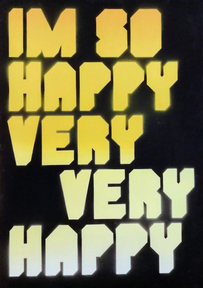 I'm So Happy Very Very Happy - Yellow