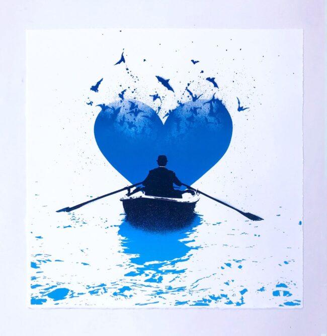 Love Bats Original Canvas