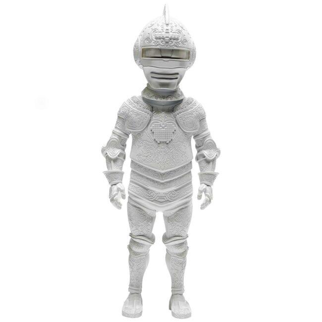 Armor of Polifilo Statue - White