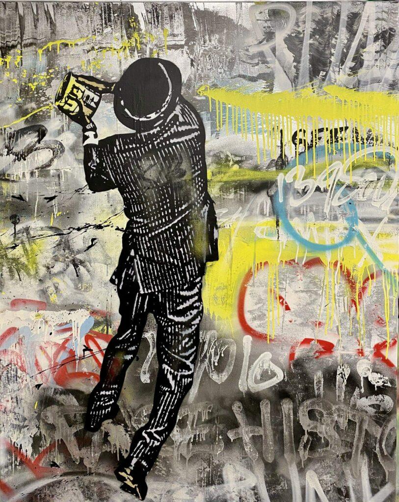 "Nick Walker - ""False History"" artwork at 2B Art & Toys Gallery"