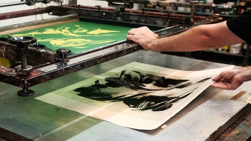 SheOne Print Making BLCKFLWRS