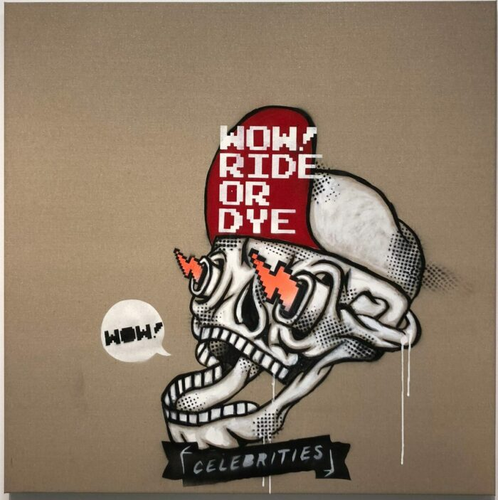 Tattoo Skull Ride or Dye