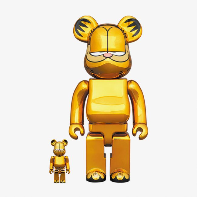 Garfield Gold Chrome 100%/400%