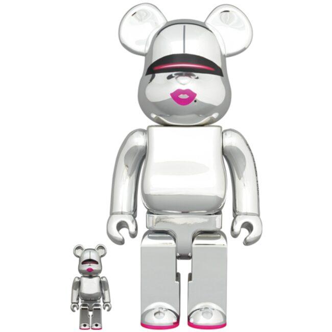 Sorayama x 2G Silver Ver. 100/400%