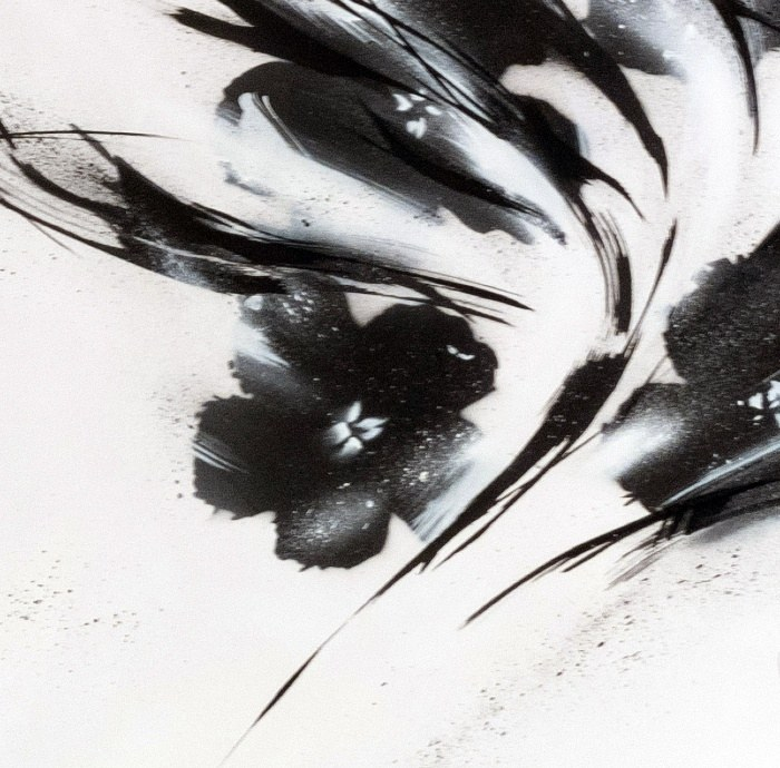 Black Flowers #2
