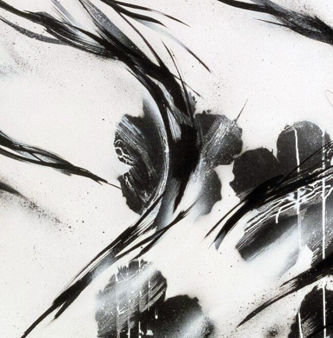 Black Flowers #4