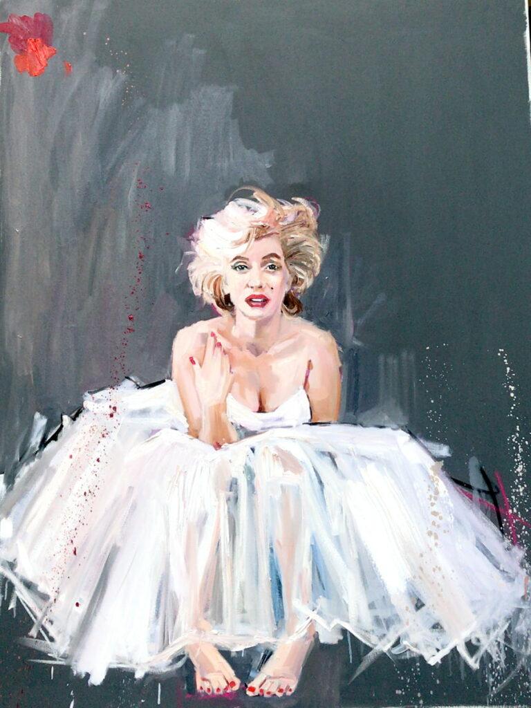 Carolina Adan Merylin painting