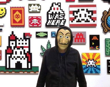 Invader artist profile photo at 2B ARt & Toys Gallery