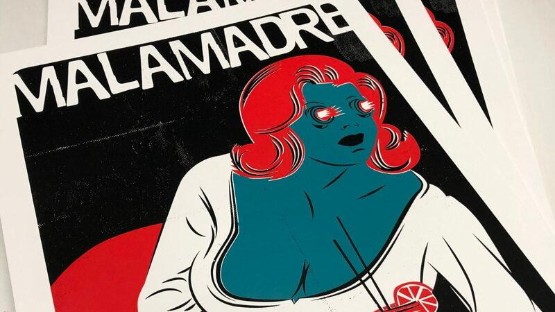 """setdebelleza Drops New Art Print: """"Malamadre"""