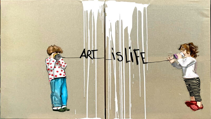 Carolina Adan artwork Art is LIfe