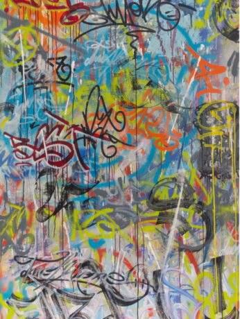 TwoFlu artwork at 2B Art & Toys Gallery